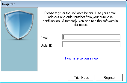 Register the Archive Manager software